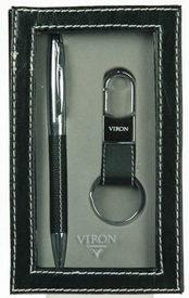 """Подарочный набор """"VIRON"""": авторучка, брелок (43523)"""