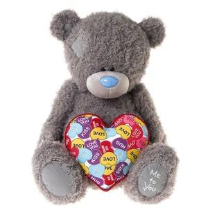 """Мишка MTY 60 см со """"сладким"""" сердце (G01W3495)"""
