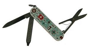 Нож-брелок Victorinox CLASSIC LIMITED EDITION 58мм electro love (0.6223.L1201)