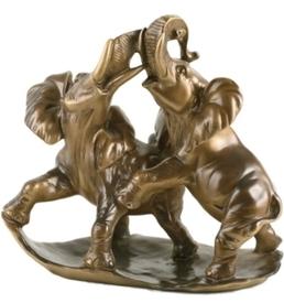 """Скульптура """"Играющие Слоны"""" (22050 Б)"""