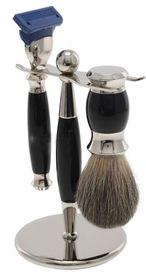 691154 Набор для бритья с подставкой (станок, помазок из ворса барсука)