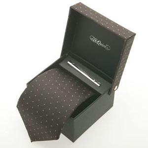 Набор: галстук и заколка для галстука (100904br*)