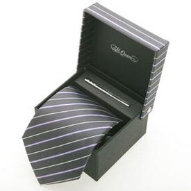 Набор: галстук и заколка для галстук (100909gr*)