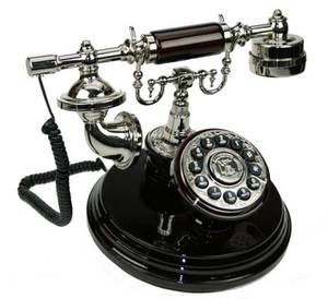 Телефон-ретро на подставке код: (36124)