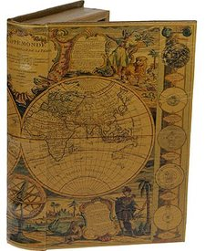 """Шкатулка """"Карта мира XVII века"""" (184126)"""