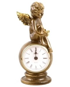 """Часы """"Ангел с птичкой""""(41002 Б)"""