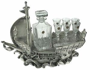 "Подарочный набор для вина на 6 персон ""Фрегат"" (59724)"