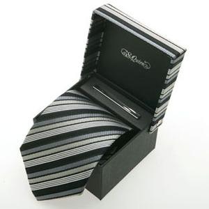 Набор: галстук и заколка для галстук (100908gr*)