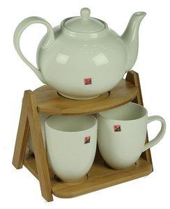 Подарочный чайный набор на подставке на 4 персоны (111045)