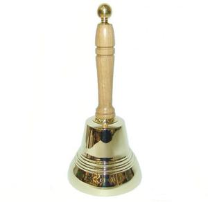 Колокольчик с деревянной ручкой (25214)
