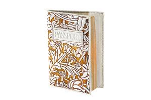 Обложка для паспорта (натуральная кожа)(009-06-12М)