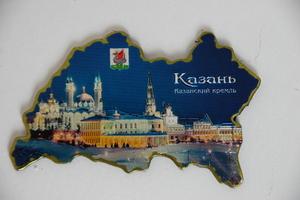 Магнит в ассортименте Казанский кремль(FLG-07)