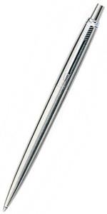 "Ручка шариковая ""Parker Jotter Stainless Steel CT"", M, синий стержень (S0705560)"