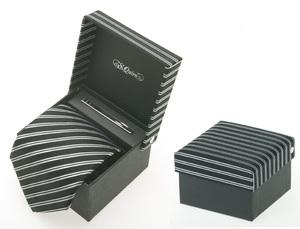 Набор: галстук и заколка для галстука (100921bk*)