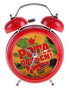 """Будильник """"Рота, подъем"""" (728398)"""