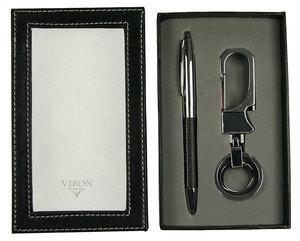 Подарочный набор VIRON: авторучка, брелок (43559)