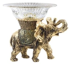 "Фруктовница-конфетница ""Слон 2"" (54062 С)"