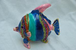 Рыба синяя маленькая (S-711E-80)