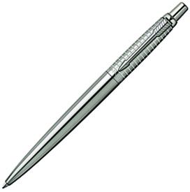"Ручка шариковая ""Parker Jotter Premium Classic Stainless Steel Chiselled"", M (S0908840)"