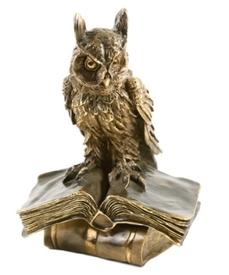 Ученый Филин  (скульптура (22139 Б)