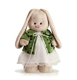 """""""Зайка Ми"""" в зеленом пальто и белом платье, малый (771610)"""