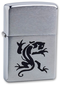 "Зажигалка Zippo ""Panther"" Brushed Chrom (200 Panther)"