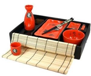 Набор для суши и сакэ на 1 персону (14104)