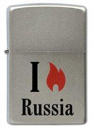 Зажигалка Flame Russia (MP317364 (205 Flame)
