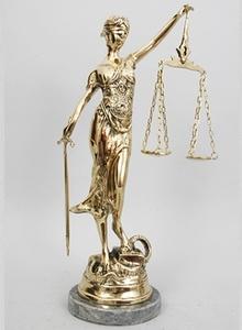 """Статуэтка """"Правосудия""""(1503 Г)"""