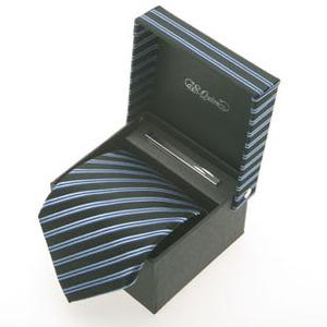 Набор: галстук и заколка для галстука (100922bk*)